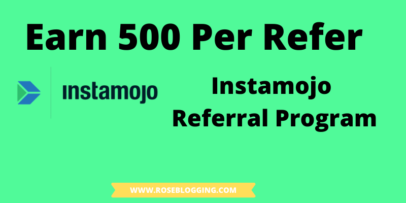 Instamojo referral program