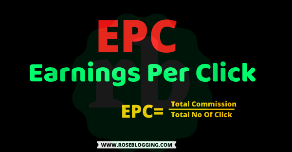 What is EPC in affiliate marketing