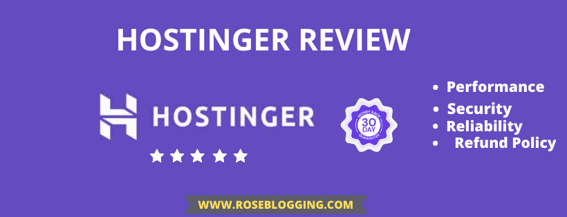 Hostinger Review 2021